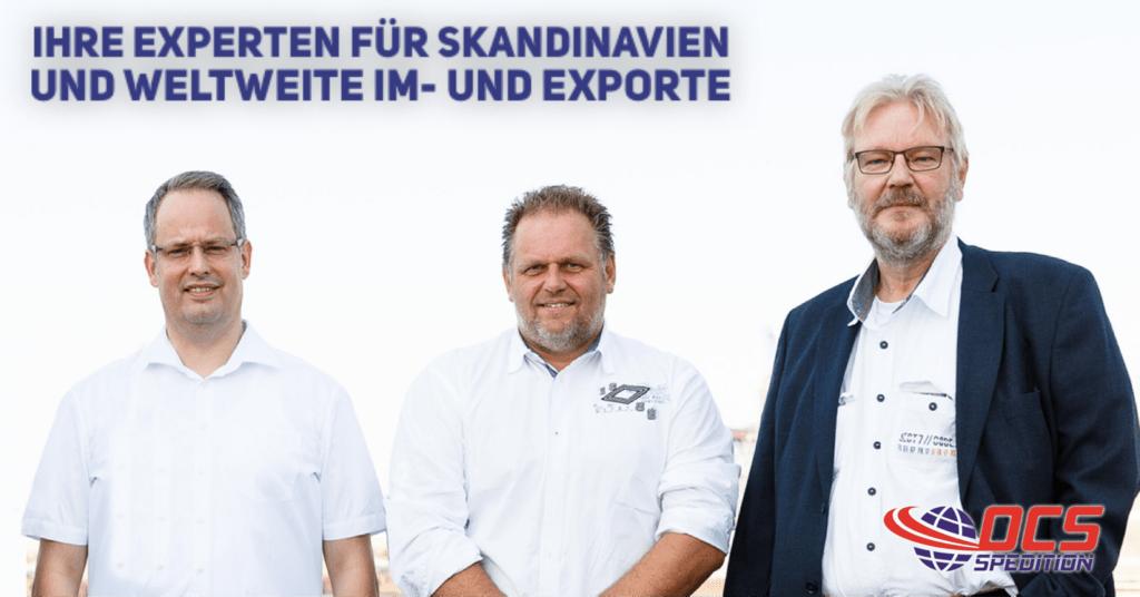 OCS Spedition Logistikteam Skandinavien