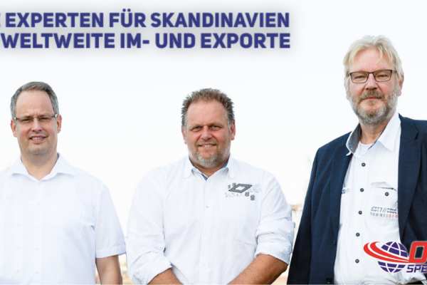 OCS Spedition Logistikteam Skandinavien